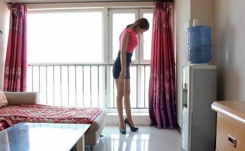 Sexy Stiletto Girl - Anna - 001