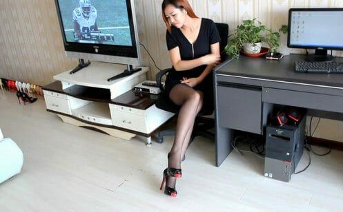 Sexy Stiletto Girl - Anna - 008