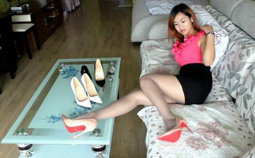 Sexy Stiletto Girl - Anna - 013