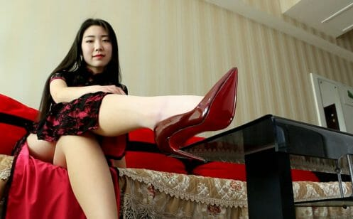 Sexy Stiletto Girl - Angelina - 004