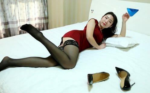 Sexy Stiletto Girl - Angelina - 011